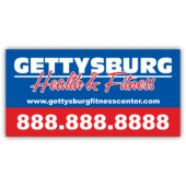 Gettysburg Fitness Center Magnetic Sign