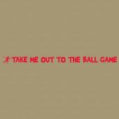 Baseball 236 Wall Lettering