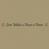 Home 232 Wall Lettering