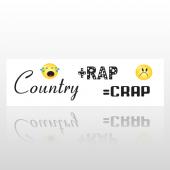 Crap 04 Bumper Sticker