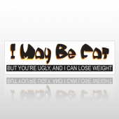 Lose Fat 111 Bumper Sticker