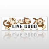 Monkeys 80 Bumper Sticker