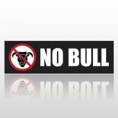 No Bull 34 Bumper Sticker