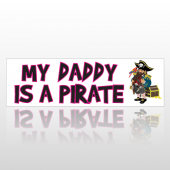 Pirate Dad 258 Bumper Sticker