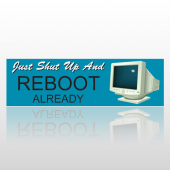 Reboot 125 Bumper Sticker