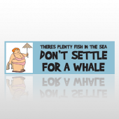 Settle Whale 267 Bumper Sticker