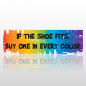 Shoe Fits 67 Bumper Sticker