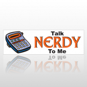 Talk Nerdy 129 Bumper Sticker