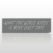 World Tape 62 Bumper Sticker