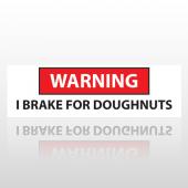 Doughnuts 15 Bumper Sticker