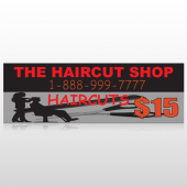 Haircut Scissor 644 Custom Decal