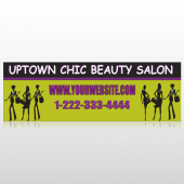 Uptown Salon 642 Custom Decal