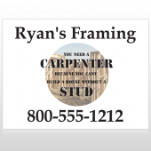 Framing 237 Site Sign