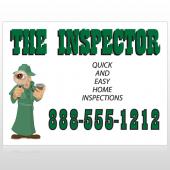 Inspector 245 Custom Decal