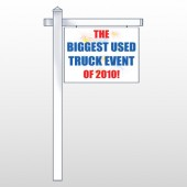 "Fireworks 327 18""H x 24""W Swing Arm Sign"