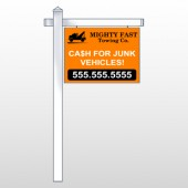 """Mighty 313 18""""H x 24""""W Swing Arm Sign"""