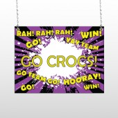 Crocs 54 Window Sign