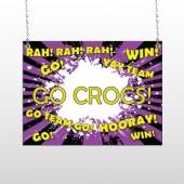 Crocs 54 Window Sign