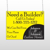 Yellow House Plan 216 Window Sign