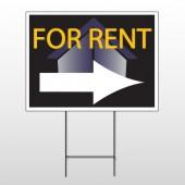 For Rent Corner 703 Wire Frame Sign