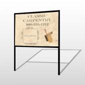 Carpentry 236 H-Frame Sign