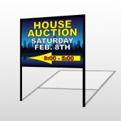 Open House Night City 708 H-Frame Sign