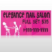 Elegant Nails 643 Custom Decal