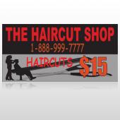 Haircut Scissor 644 Custom Decal