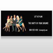 Party Planning 519 Custom Decal