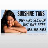 Sunshine Tans 297 Custom Decal