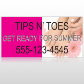 Tips & Toes 488 Custom Decal