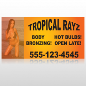 Tropical Rayz Tan 490 Custom Decal