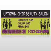 Uptown Salon 642 Custom Decal