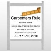 "Convention 239 48""H x 48""W Site Sign"