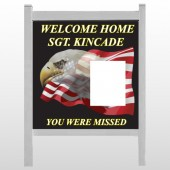 "Eagle Flag 307 48""H x 48""W Site Sign"