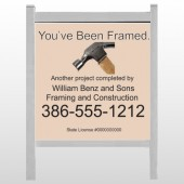 "Framed 236 48""H x 48""W Site Sign"