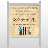 "Home Repair 242 48""H x 48""W Site Sign"
