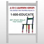 "Pencil Chair 159 48""H x 48""W Site Sign"