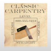 Carpentry 238 Custom Decal