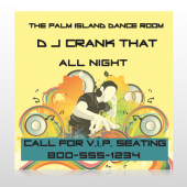 DJ Crank Night 369 Custom Decal