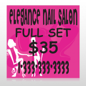 Elegant Nails 643 Custom Decal