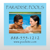 Paradise Pool 529 Custom Decal