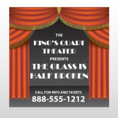 Theatre Curtains 521 Custom Decal