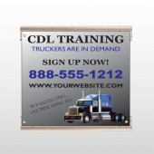 CDL Training 155 Track Sign