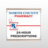 Pharmacy 101 Track Sign