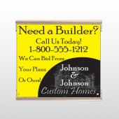 Yellow House Plan 216 Track Sign