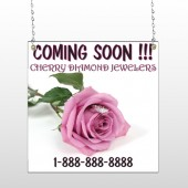 Pinkrose Hidden Ring 399 Window Sign
