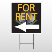 For Rent Corner 702 Wire Frame Sign