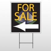 For Sale Corner 704 Wire Frame Sign