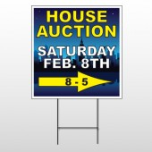 Open House Night City 709 Wire Frame Sign